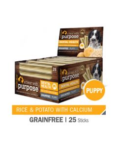 Evolution Puppy Dental Rice and Potato with Calcium 25 Sticks (1 Box)