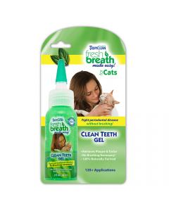 Tropiclean Clean Teeth Gel Cat 59Ml