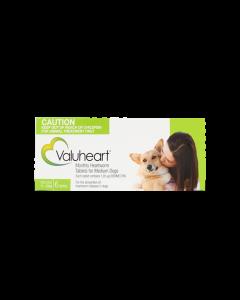 Valuheart Heartworm Tablets Dog Medium 11-20kg Green 6 Pack