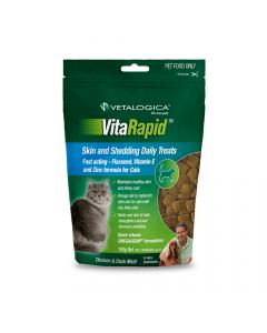 Vetalogica Vitarapid Cat Skin & Hairball Treats 100g
