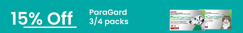 15% off ParaGard 3   4 Packs
