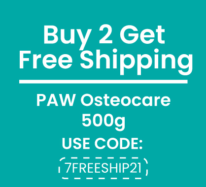 Free Shipping PAW Osteocare 500g x 2