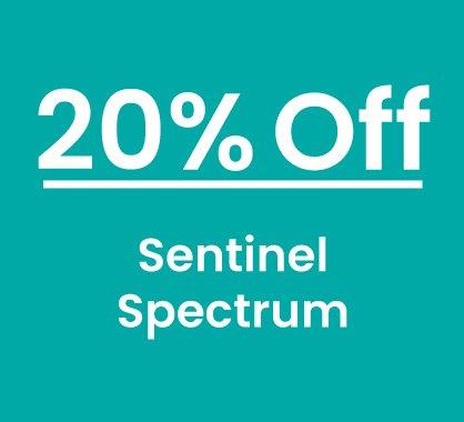 20% off Sentinel Spectrum