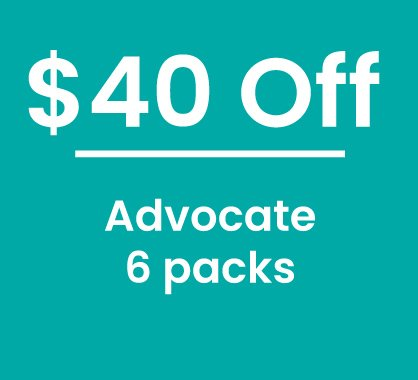 15% off Advocate 6 Pack
