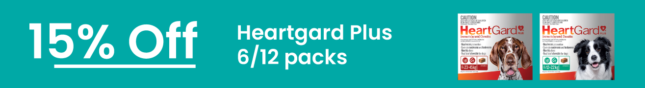 Heartgard Plus 15% Off 6 and 12 packs