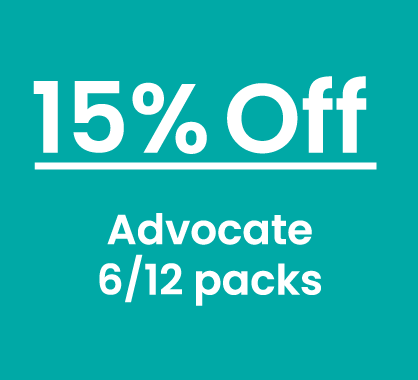 Advocate 15% Off 6 and 12 packs