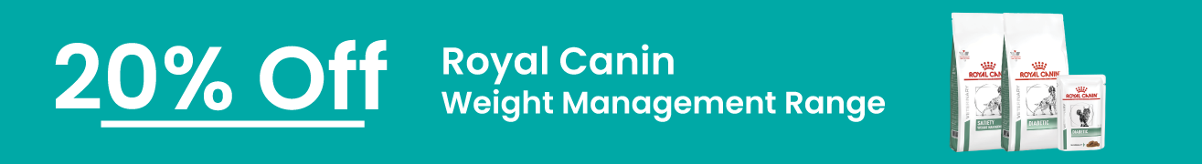 Royal Canin Weight Management Range 20% Off