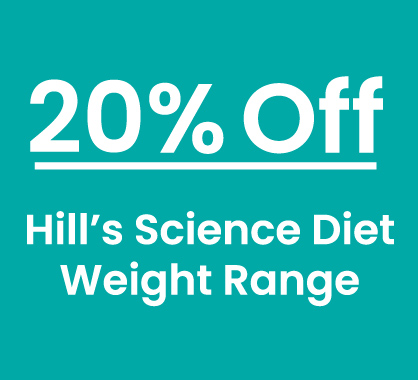 Hill's Science Diet Weight Range 20% Off