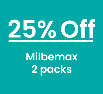 Milbemax 25% Off 2 Packs
